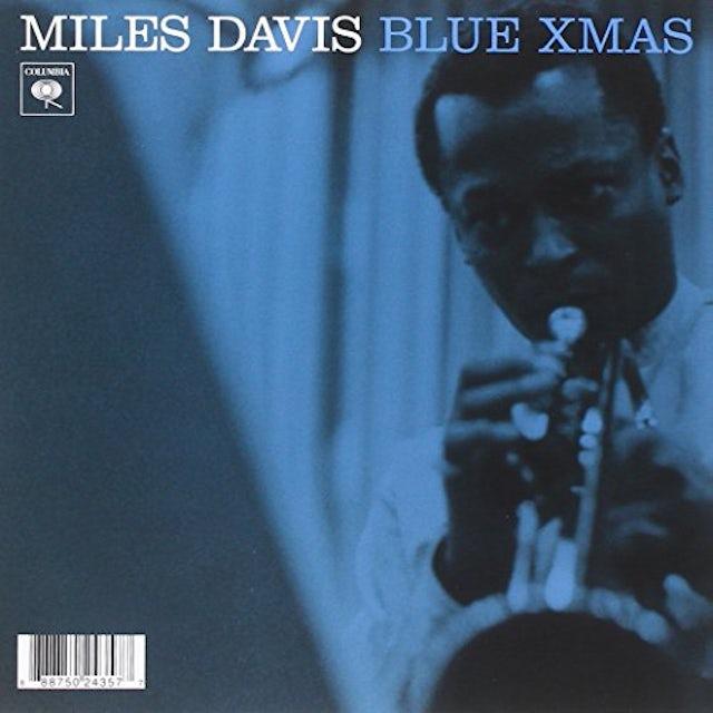 Miles Davis BLUE XMAS Vinyl Record