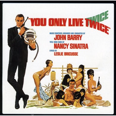 YOU ONLY LIVE TWICE YOY ONLY LIVE TWICE / Original Soundtrack CD