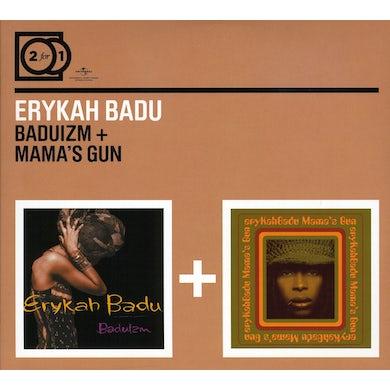 Erykah Badu BADUIZM / MAMAS GUN CD