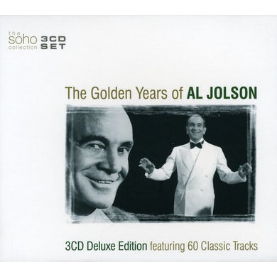 GOLDEN YEARS OF AL JOLSON CD