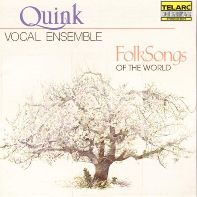 Quink Vocal Ensemble FOLKSONGS AROUND THE WORLD (A CAPPELLA) CD