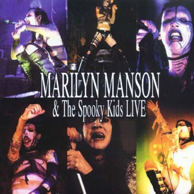Marilyn Manson & Spooky Kids LIVE CD