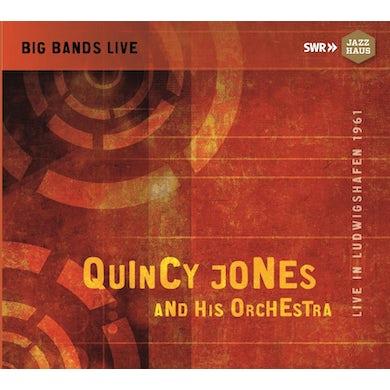 Quincy Jones LIVE IN LUDWIGSHAFEN 1961 CD