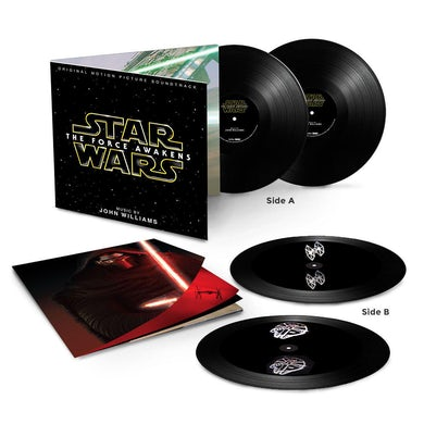 STAR WARS: FORCE AWAKENS / O.S.T. STAR WARS: THE FORCE AWAKENS / O.S.T. Deluxe Edition Vinyl Record