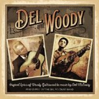 Del Mccoury DEL & WOODY CD
