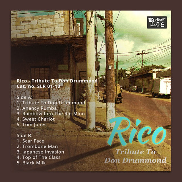Rico Rodriguez TRIBUTE TO DON DRUMMOND Vinyl Record