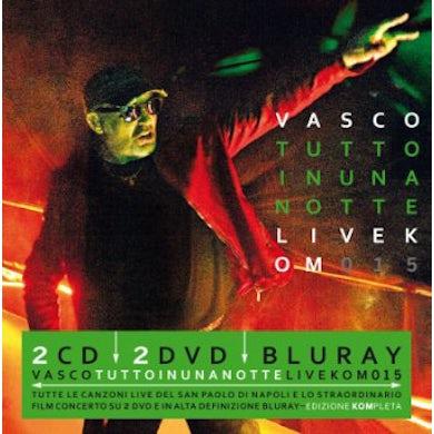 Vasco Rossi TUTTO IN UNA NOTTE: LIVE KOM 2015 Blu-ray