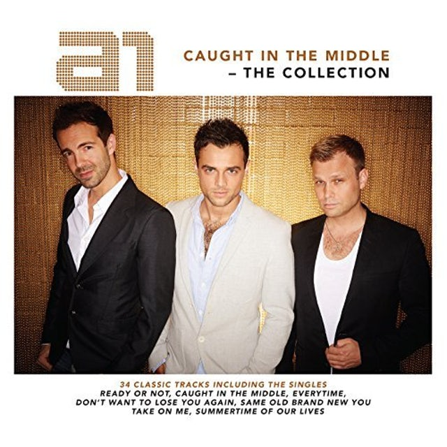 a1 CAUGHT IN THE MIDDLE: COLLECTION CD
