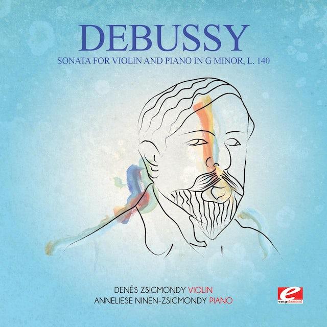 Debussy SONATA FOR VIOLIN & PIANO G MIN 140 CD