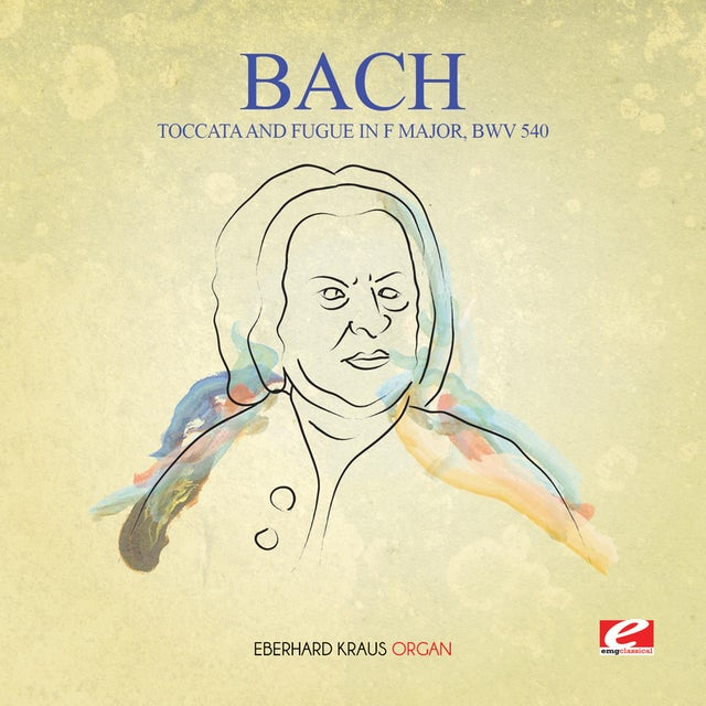 J.S. Bach TOCCATA & FUGUE IN F MAJOR BWV 540 CD