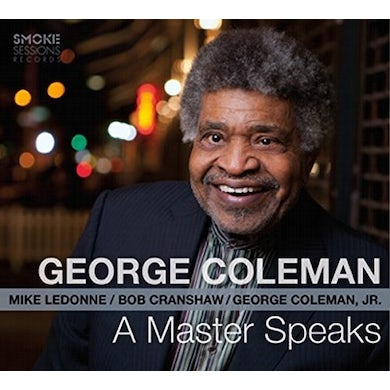 George Coleman MASTER SPEAKS CD