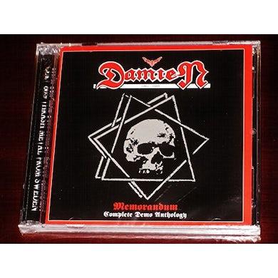 Damien MEMORANDUM: COMPLETE DEMO ANTHOLOGY CD