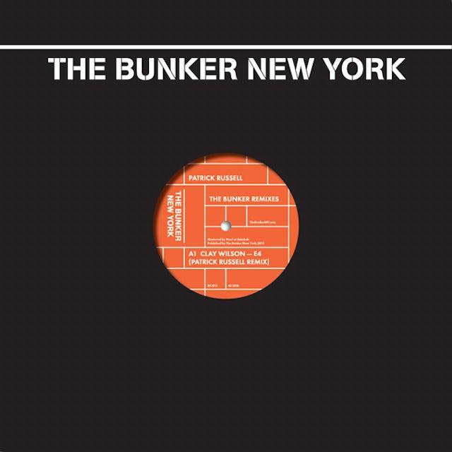 Patrick Russell BUNKER REMIXES Vinyl Record