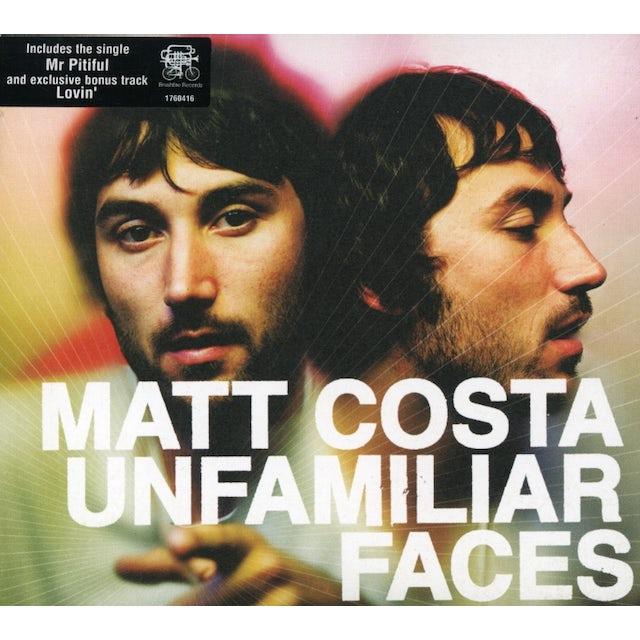 Matt Costa UNFAMILIAR FACES CD