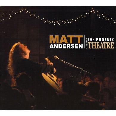Matt Andersen LIVE FROM THE PHOENIX CD