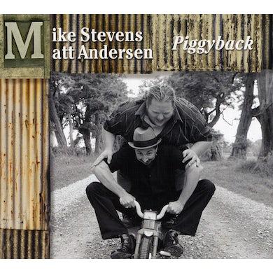 Matt Andersen PIGGY BACK CD