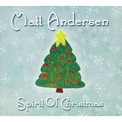 Matt Andersen SPIRIT OF CHRISTMAS CD