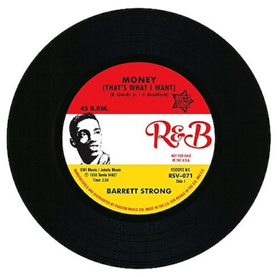 Barrett Strong MONEY / MISERY Vinyl Record