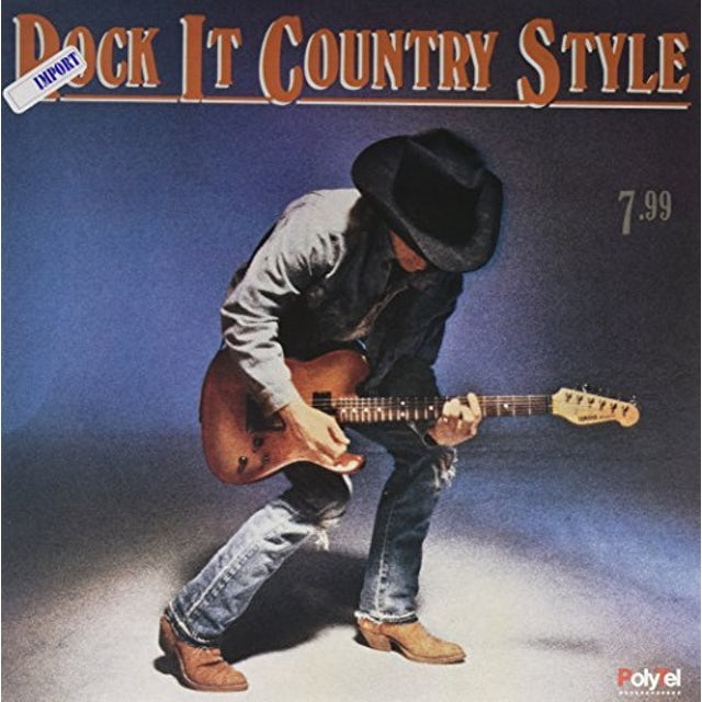 Steve Earle / Vince Gill / Dwight Yoakam ROCK IT COUNTRY STYLE Vinyl Record