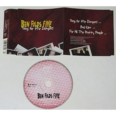 Ben Folds Five SONG FOR THE DUMPED CD