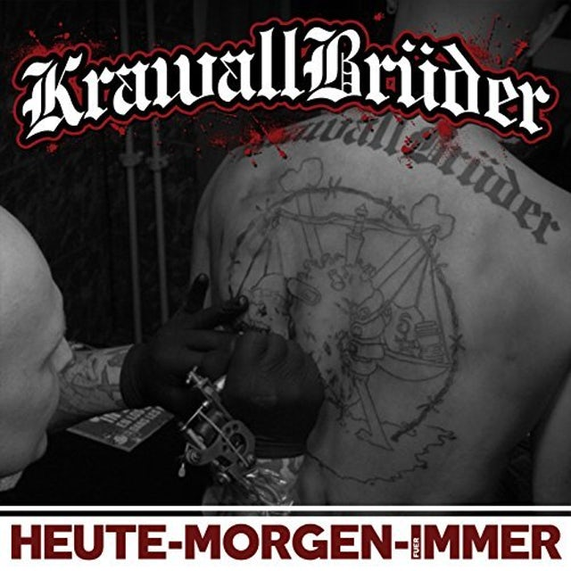KRAWALLBRUEDER HEUTE MORGEN FUER IMMER CD