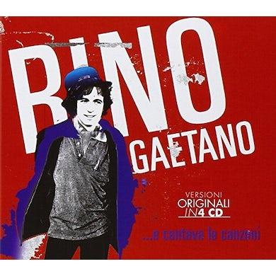 Rino Gaetano E CANTAVA LE CANZONI CD