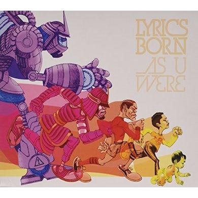 Lyrics Born AS U WERE CD