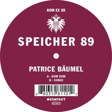 Patrice Bäumel SPEICHER 89 Vinyl Record