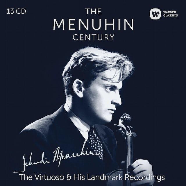 Yehudi Menuhin MENUHIN CENTURY VIRTUOSO & HIS LANDMARK RECORDINGS CD
