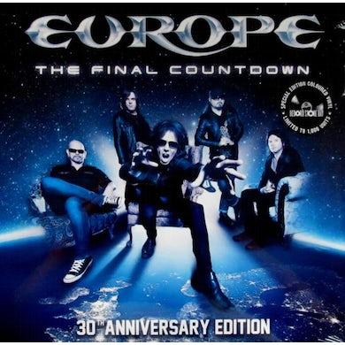 Europe FINAL COUNTDOWN 30TH ANNIVERSARY Vinyl Record - Blue Vinyl, Colored Vinyl