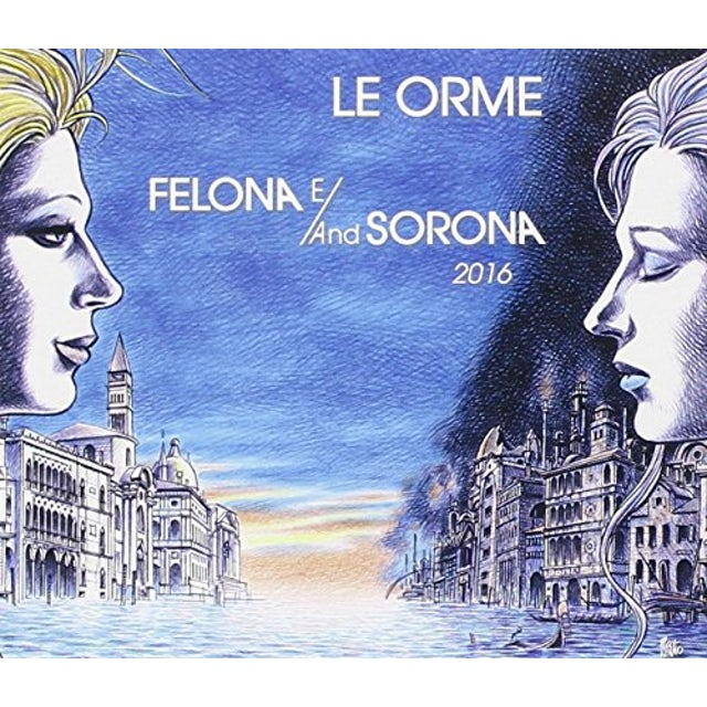 Orme FELONA E/AND SORONA 2016 DELUXE LIMITED NUMBERED CD