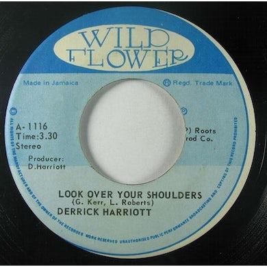Derrick Harriott LOOK OVER YOUR SHOULDERS Vinyl Record
