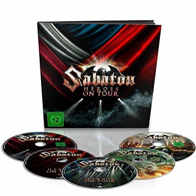 Sabaton HEROES ON TOUR: EARBOOK EDITION CD