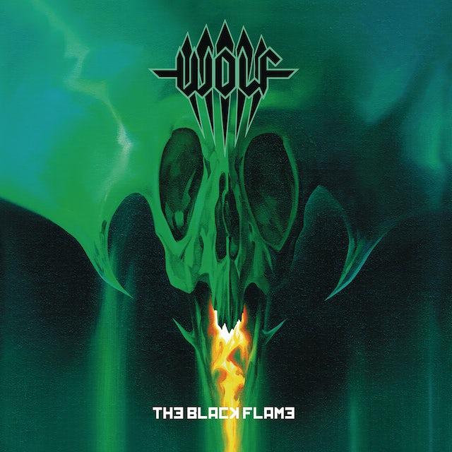 Wolf BLACK FLAME Vinyl Record