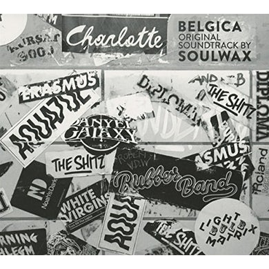 Soulwax BELGICA (ORIGINAL SOUNDTRACK) CD