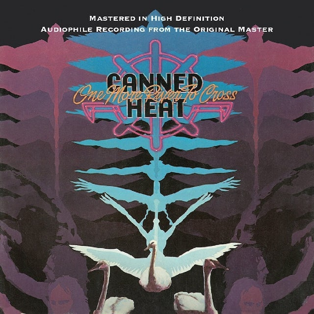 Canned Heat ONE MORE RIVER TO CROSS + BONUS TRACKS CD