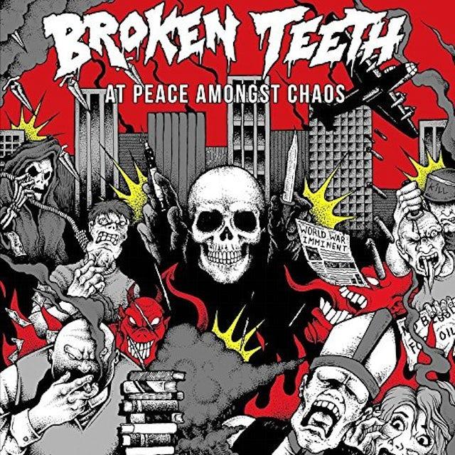BROKEN TEETH HC AT PEACE AMONGST CHAOS CD