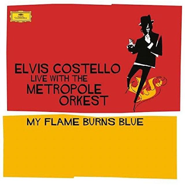 Elvis Costello MY FLAME BURNS BLUE Vinyl Record