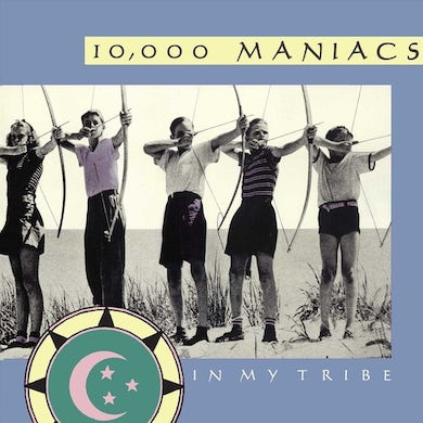 10,000 Maniacs IN MY TRIBE Vinyl Record