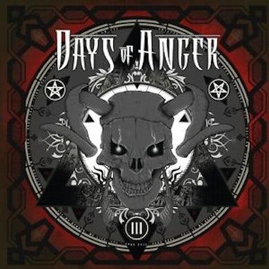 Days Of Anger III CD