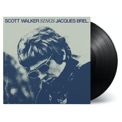 Scott Walker SINGS JACQUES BREL Vinyl Record