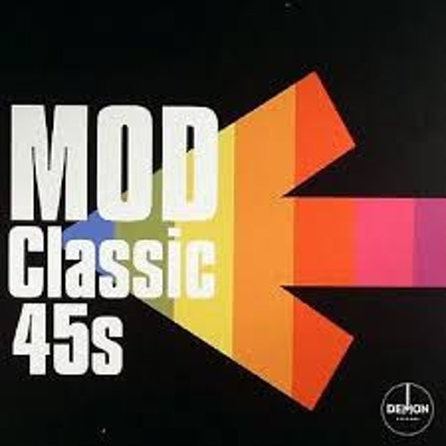 CLASSIC 45'S: MOD / VARIOUS (BOX) (UK) CLASSIC 45S: MOD / VARIOUS Vinyl Record