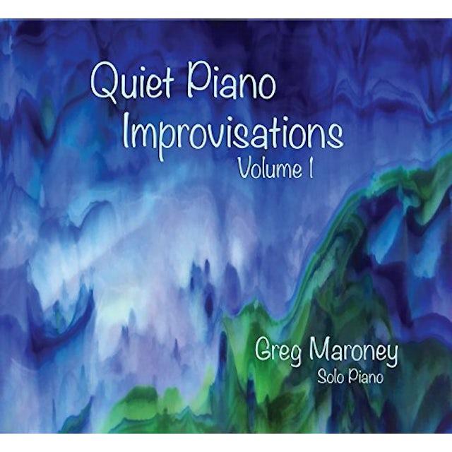Greg Maroney QUIET PIANO IMPROVISATIONS 1 CD