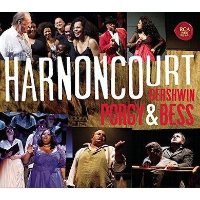 Nikolaus Harnoncourt GERSHWIN: PORGY & BESS CD