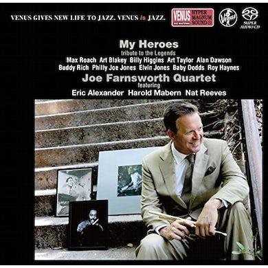 Joe Farnsworth MY HEROES Super Audio CD
