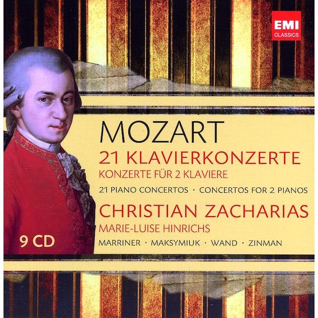 W.A. Mozart 21 CHRISTIAN ZACHARIAS CD