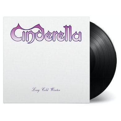 Cinderella LONG COLD WINTER Vinyl Record