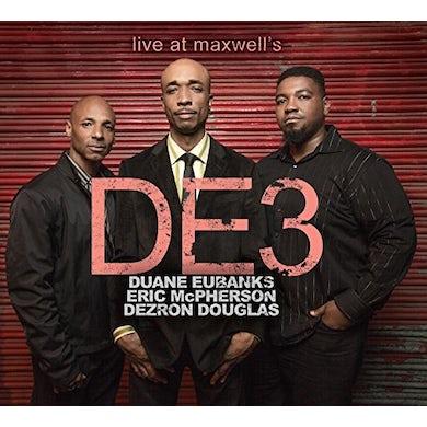 DE3 LIVE AT MAXWELL'S CD