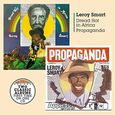Leroy Smart DREAD HOT IN AFRICA + PROPAGANDA CD