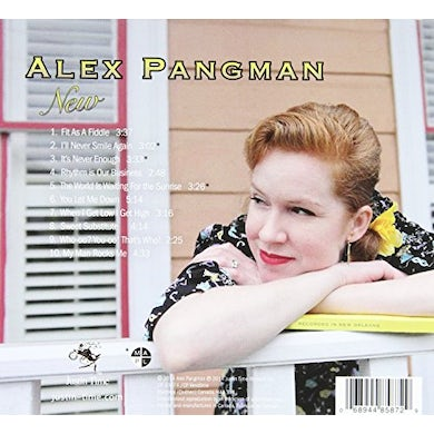Alex Pangman NEW CD